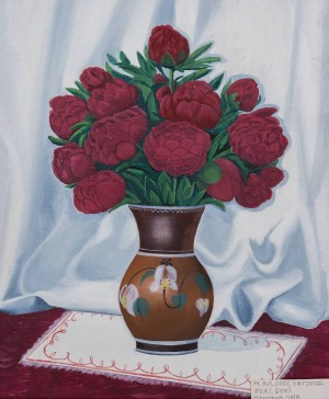 V. Oros. Uzhhorod. Gods Roses, oil on canvas