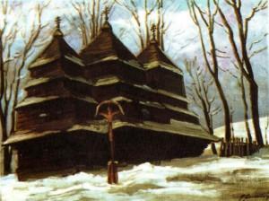 Церква святого Івана (1769р.) с. Сухий, 1989, 50х60