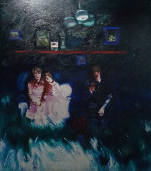 Time To Host Guests, 1983, oil on canvas