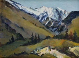 'Ravine In The Tatras Mountains', 1935, oil on canvas, 60x80.jpg