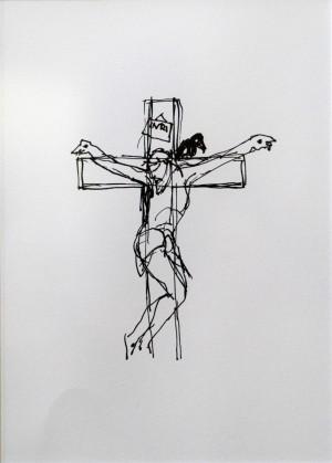 Tamás Cseh Corpus printed graphic, paper 11,6х87