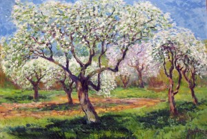 'Apple Garden', 2002, oil on canvas