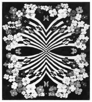 Весняний букет, 1976, гобелен, 212х200
