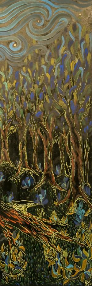 Кочуровська О. Дух лісу, (права частина)зміш.техн.акр