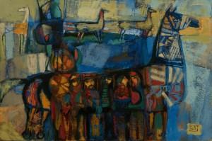 A. Kovach  Trojan horse, 2015