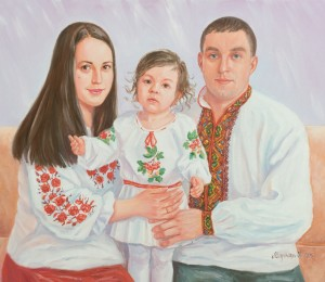 Family Portrait, 2015, oil on canvas, 60x70