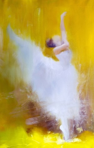 Dance in the Sun 2017 oil on canvas 60x95.