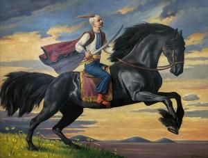 Триптих 'Пробудження духу України', 'Вартовий', 2014, 60х80