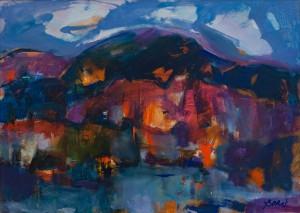 'Evening Landscape', 2016