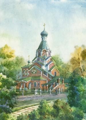 Покровська православна церква, акв.