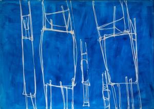 Із серії Chairs, 2015, п. о. акр., 140х200