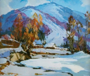 Spring Is Coming Soon, 2012, oil on canvas, 60х80