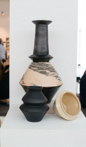 T. Litus potter's clay, glaze 2017