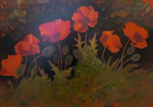 I. Didyk. Poppies., 2017