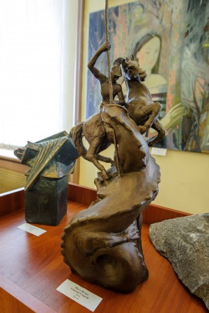 "P. Matl ""Saint George"", 2010, bronze"