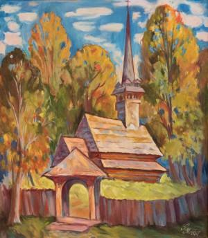 Деревяна Церква, п.о., 56х50