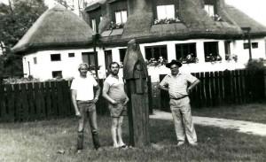 Пленер в Дебрецені (Едерпусто), біля роботи Материнство