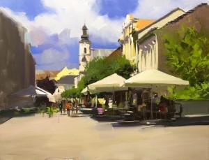 Uzhhorod 22016oil on canvas 65x85.