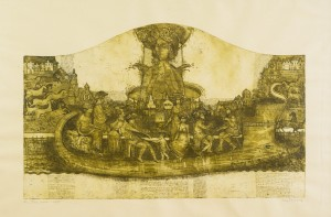The Course of Life, 2010, etching