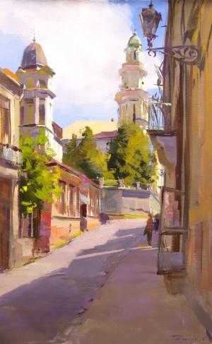 Uzhhorod2016oil on canvas40x65.
