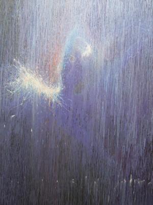 Wave of Silence 2016 acrylic on canvas 200x150.