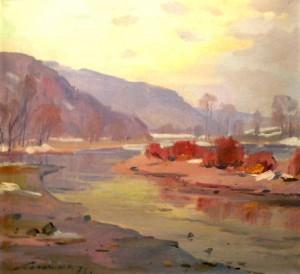 River Uzh, 1978
