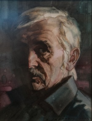 V. Skakandii, Self-portrait, 2006