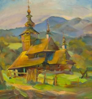 Левляс Т. 'Храм. Свалява-Бистрий', 2012