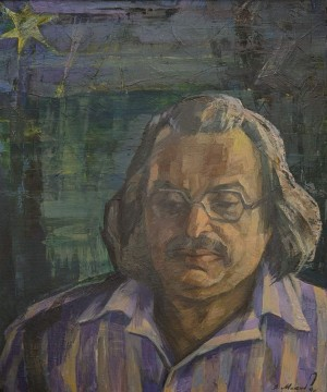 "V. Mykyta ""Felix Crivin"", 1968, oil on canvas"