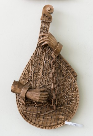 A. Sakalosh. Untitled, carving, wood