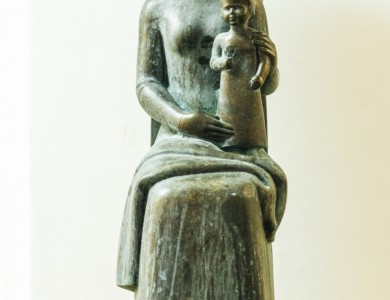 Motherhood, bronze