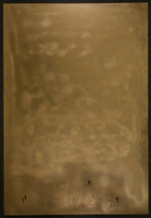 Із серії Space, 2016, скло, акр., 150х100