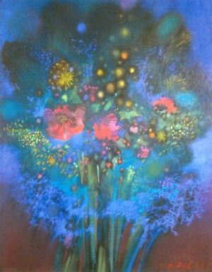 Spring Flowers, 2007, 50х65