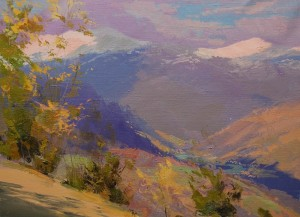 Happy White 2015 oil on canvas 40x55