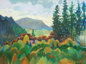 Bouquet, 2007, paper, pastel, 65x50