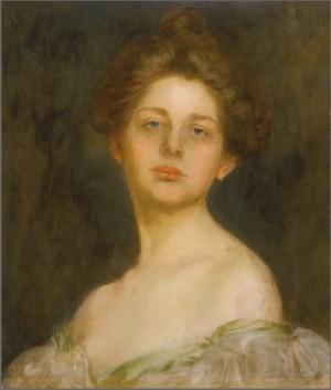 Портрет леді, дошка,о., 53,3х45,7