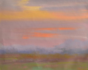 When the paints speak 2014oil on canvas 50x65
