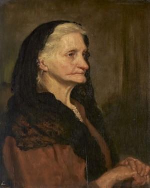Портрет старої жінки