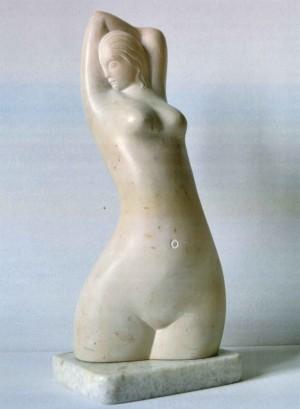 Awakening, marble, 32x13x11