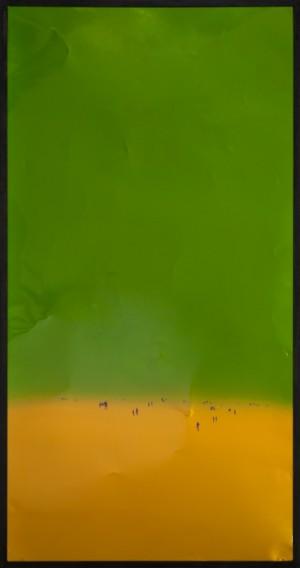 Із серії Space, 2017, скло, акр., 200x100