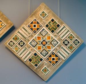 Шишола В., Декоративне панно-триптих за мотивами писанкового орнаменту