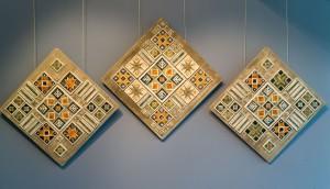V. Shyshola Decorative panel-triptych by the motif of Pysanka ornament 2017 (4)