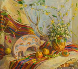Павук А. 'Весняний натюрморт', 2013
