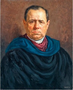 Mans Portrait, 1931, oil on wood, 67x54