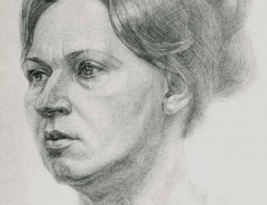«Portrait of A Woman», 1982, pencil, paper, A3