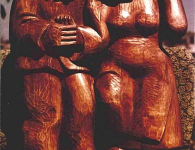 «Танець», 1975, дерево, 48,5х32