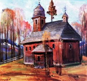 Шутєв І. Церква св. Апостола Миколи, с. Стара Стужиця, п.о., 50х55