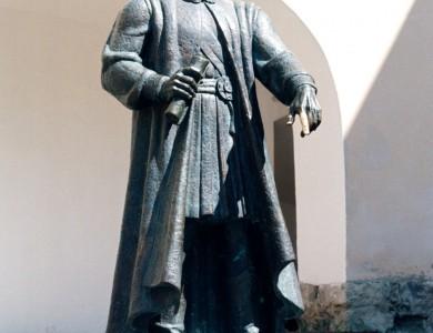 Федір Корятович, 1996, бронза, 1,2 натуральна величина, замок «Паланок»