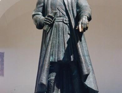 Fedir Koriatovych, 1996, bronze, 1,2 actual size, Palanok Castle