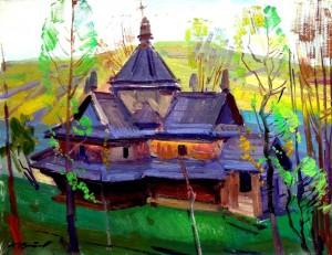 Шутєв І. Пам'ятник архітектури. Ясіня, 49х64